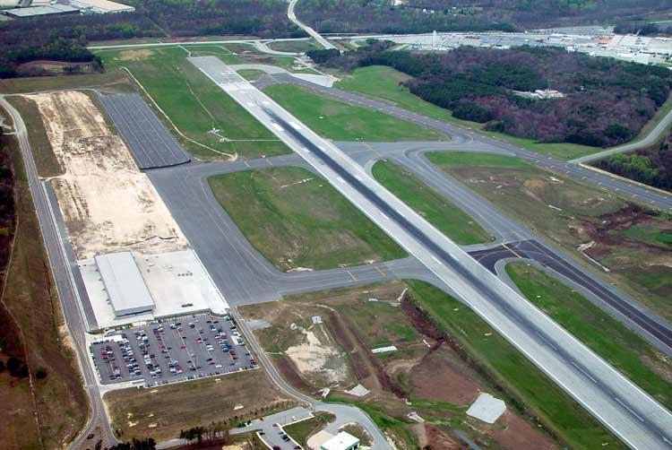 BWI Jet Landing